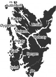 Distribusjon Bergen og Hordaland